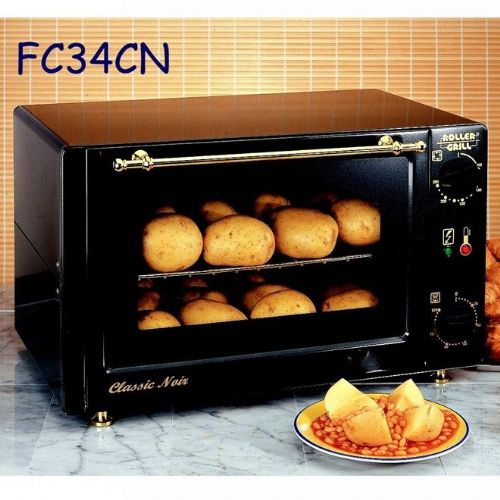 Roller Grill FC340CN Classic Noir Styled Convection Oven Ovens